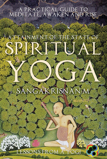 Spiritual yoga book cover